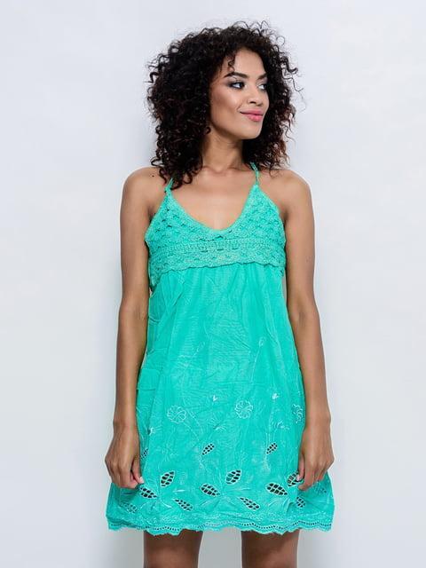 Платье мятного цвета Magnet 4368372
