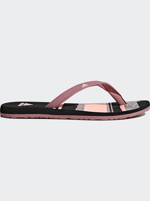 Вьетнамки розово-черные Adidas 4390459