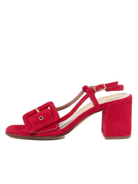 Босоніжки червоні PAOLA FERRI 4403091