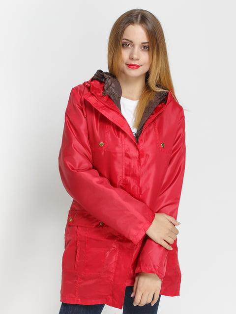 Куртка червона Venca 4327087