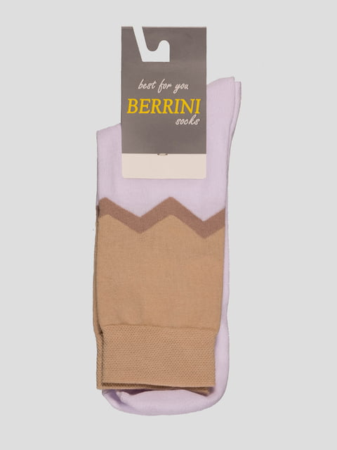 Шкарпетки двоколірні Berrini 4398793