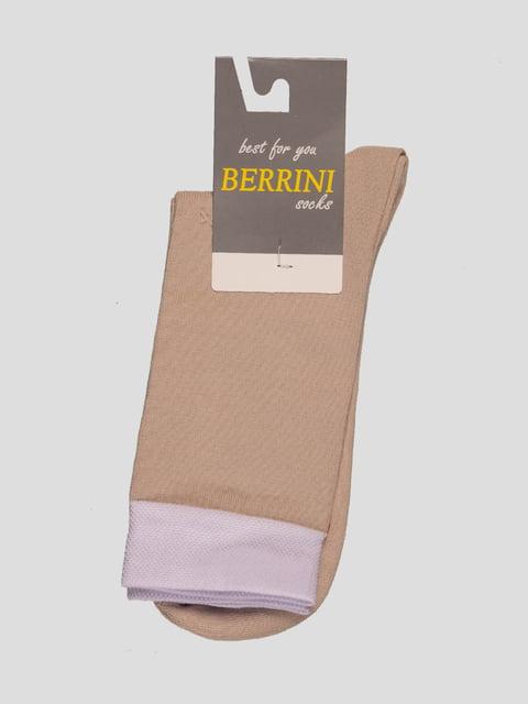 Шкарпетки бежеві Berrini 4398781