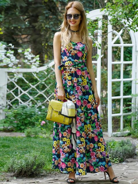 Платье в цветочный принт Alissia Rey 4384449