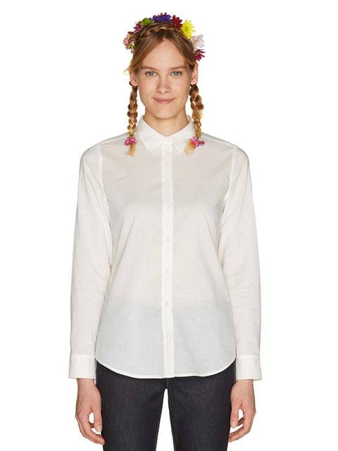 Рубашка белая Benetton 4407766