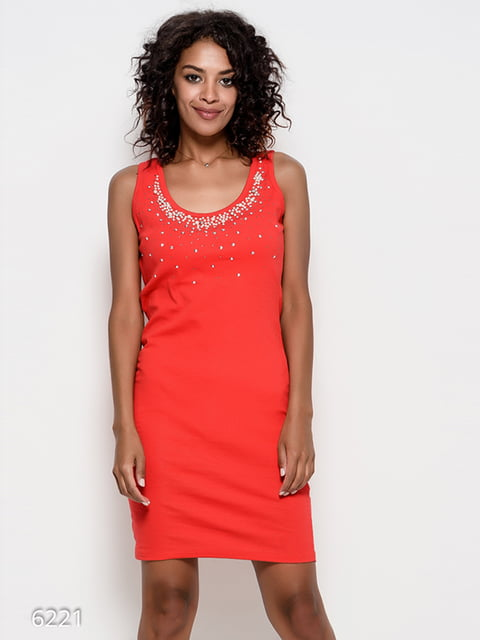 Сукня червона Magnet 4412372