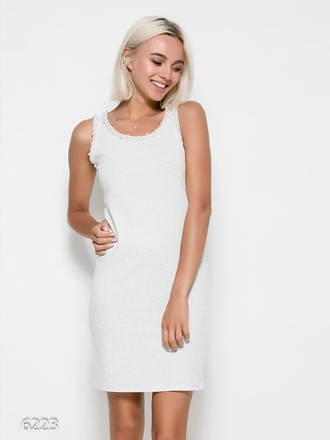 Платье серое Magnet 4412377