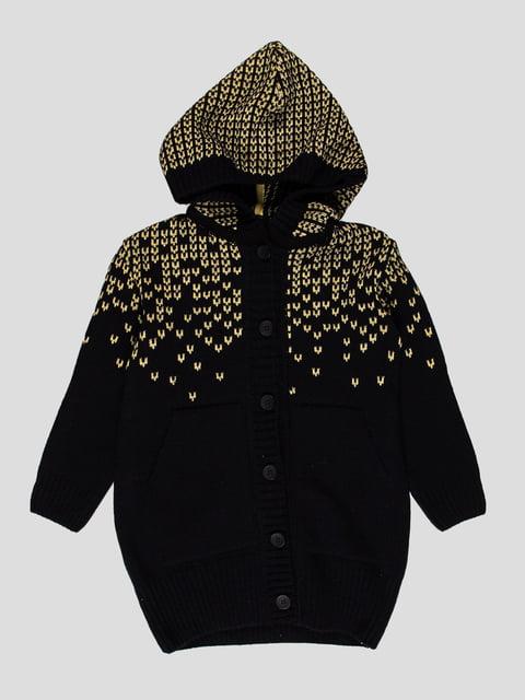Пальто темно-синє Flash 4397176