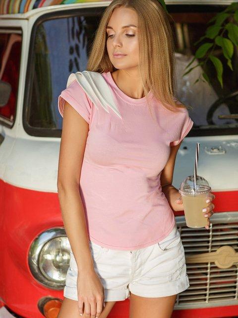 Футболка розовая Gepur 4386417