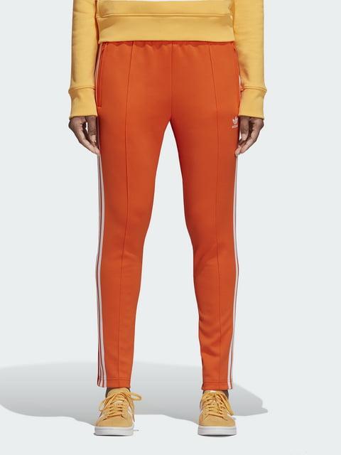 Брюки оранжевые Adidas Originals 4415877