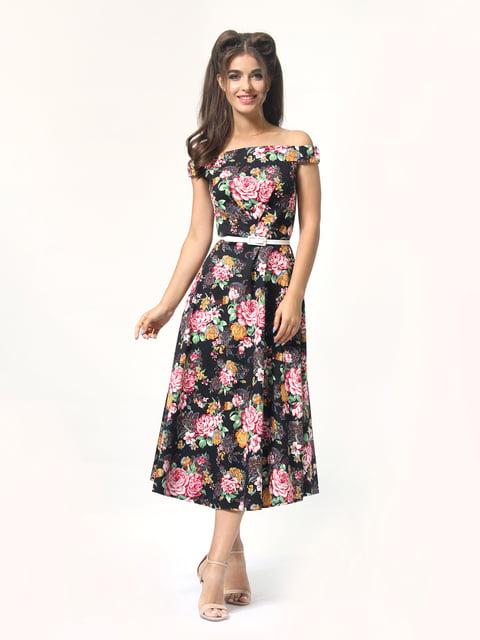 Платье в цветочный принт AGATA WEBERS 4418838