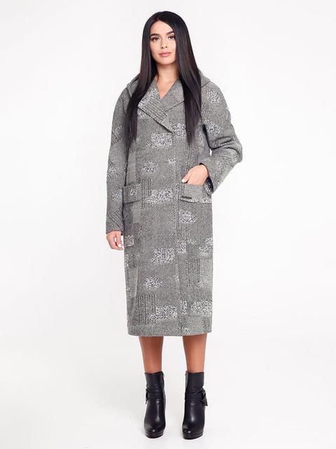 Пальто серое Favoritti 4421184
