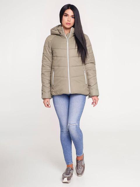 Куртка оливкового кольору Favoritti 4421188