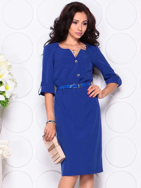Платье цвета электрик Laura Bettini 4414377