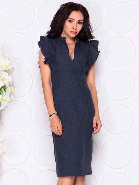 Платье темно-синее Laura Bettini 4414390