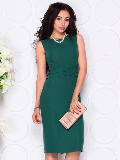 Платье темно-изумрудного цвета Laura Bettini 4414394