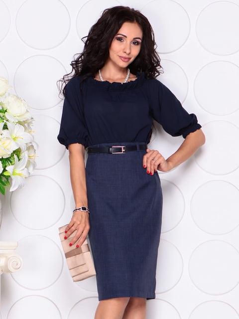 Платье темно-синее Laura Bettini 4414399