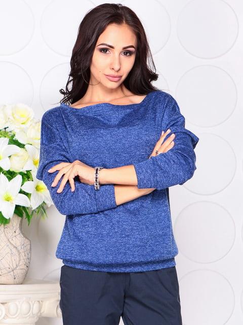 Джемпер цвета синий электрик Laura Bettini 4419732