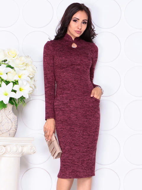 Сукня сливового кольору Laura Bettini 4419755