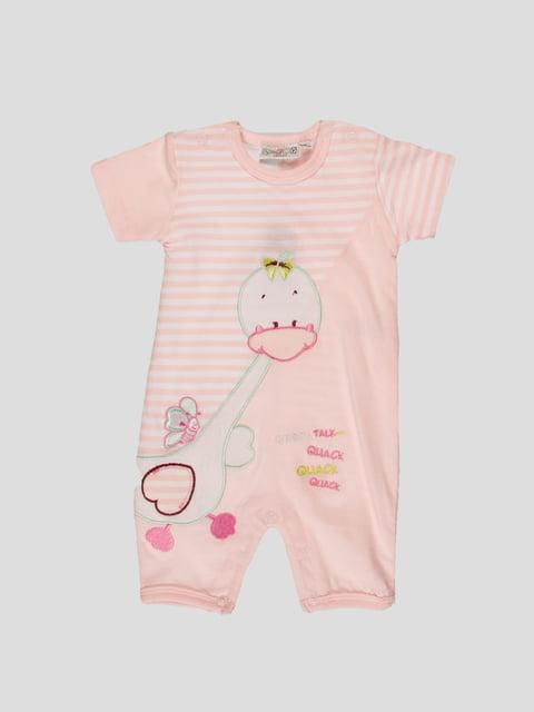 Человечек розовый пижамный N-Joy 27931