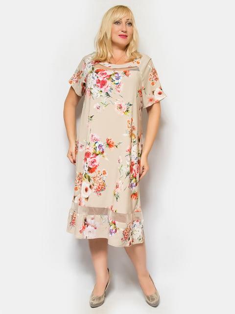 Платье бежевое LibeAmore 4424818