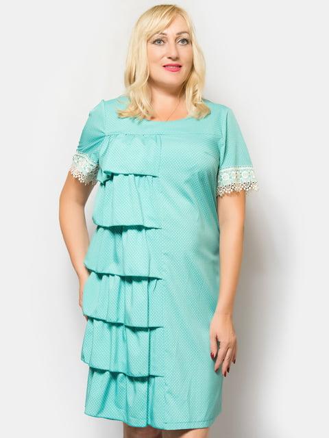 Платье бирюзовое LibeAmore 4424825