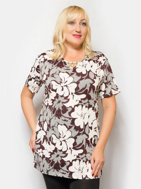 Блуза в цветочный принт LibeAmore 4425263