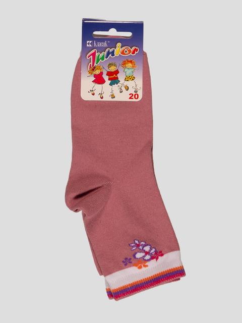 Шкарпетки лілового кольору Классик 3630714