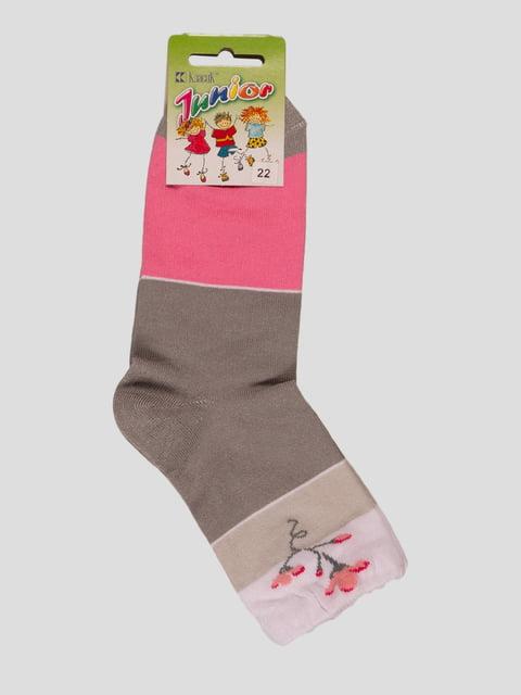 Шкарпетки різнобарвні Классик 3630917