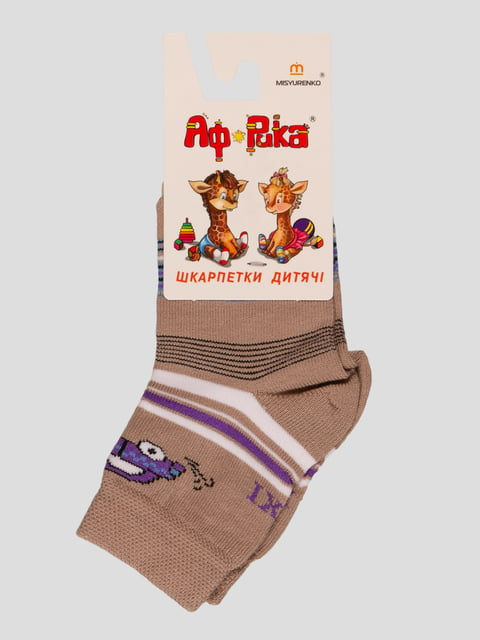 Шкарпетки бежеві Misyurenko 3630566
