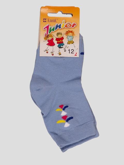Шкарпетки блакитні Классик 3630683
