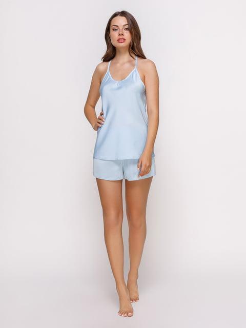 Майка голубая пижамная Lapin 4419719