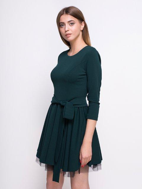 Платье темно-зеленое Zubrytskaya 4427629