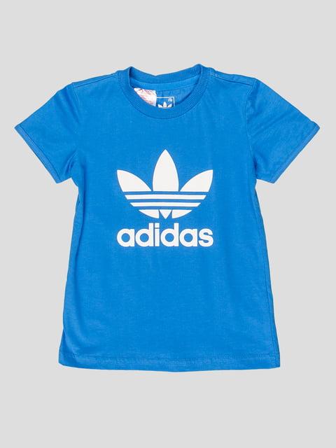 Футболка синяя Adidas 3297135