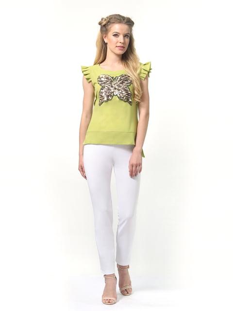Блуза салатовая AGATA WEBERS 4421086