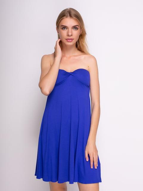 Сукня синя Women Secret 2992193