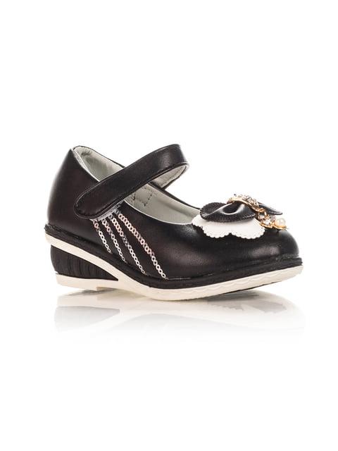 Туфли черные Шалунишка 4408107