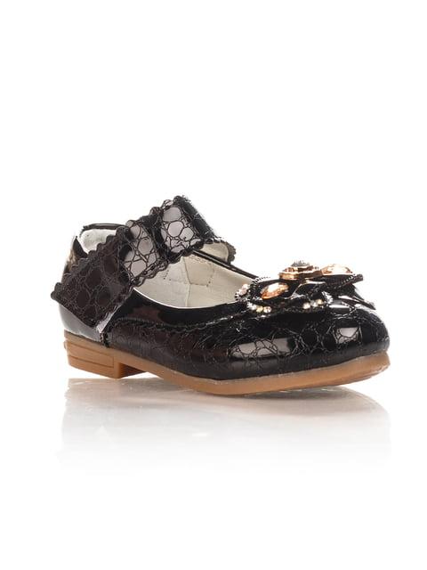 Туфли черные Шалунишка 4408109