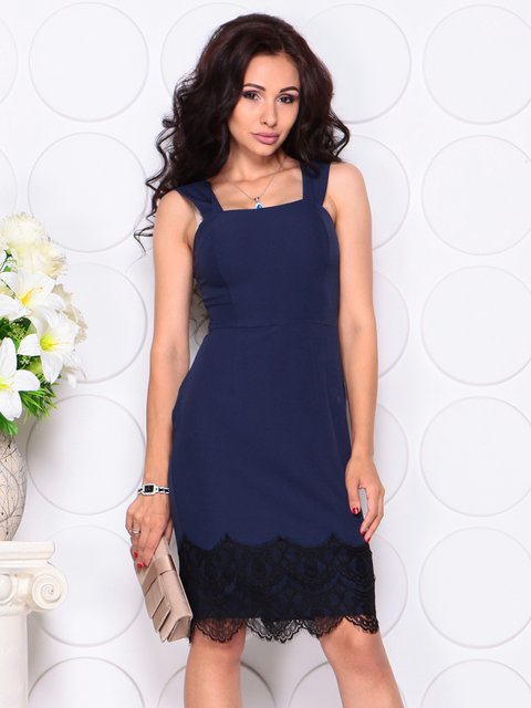 Платье темно-синее Laura Bettini 4444584