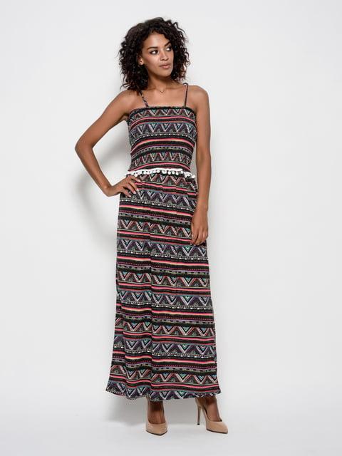 Платье в принт Magnet 4421682