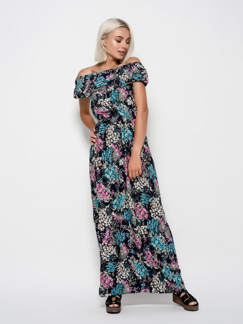 Платье в принт Magnet 4421698