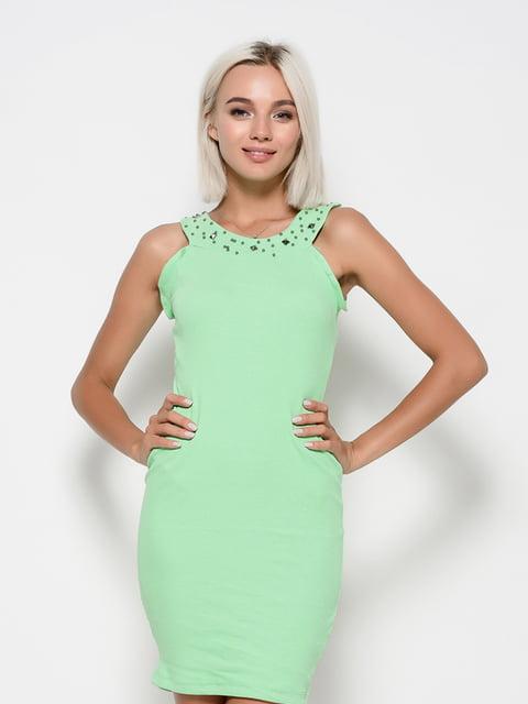 Платье салатовое Magnet 4421703