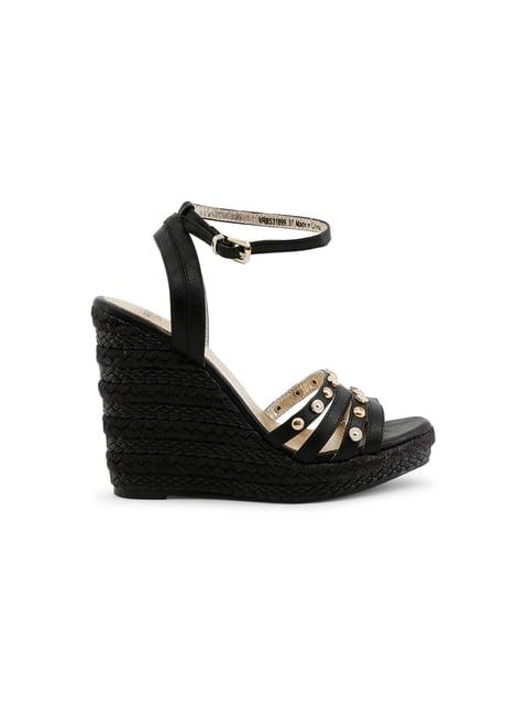 Босоніжки чорні Versace Jeans 4445953