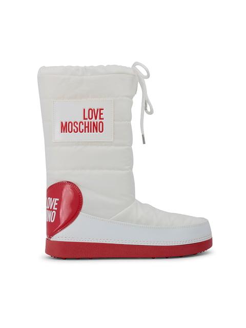 Сапоги белые Love Moschino 4445955