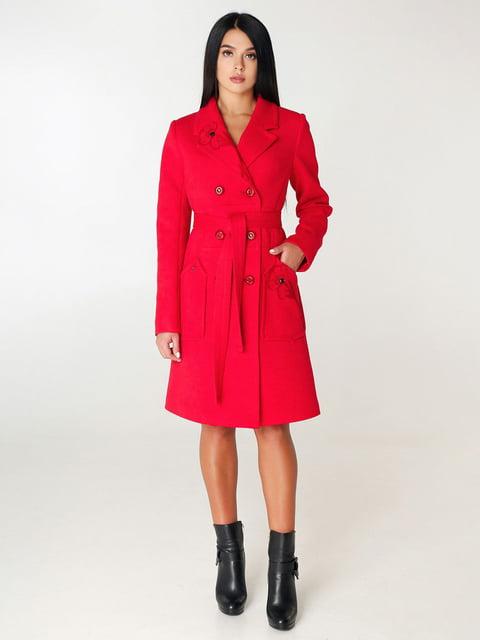 Пальто красное Favoritti 4450207