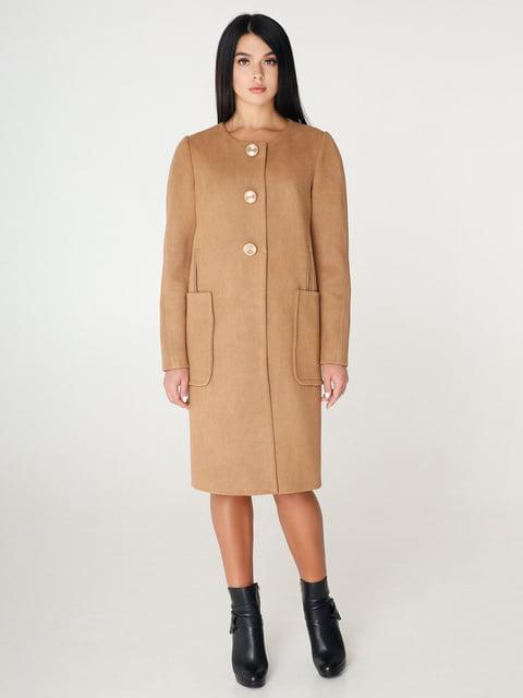 Пальто бежевое Favoritti 4450217