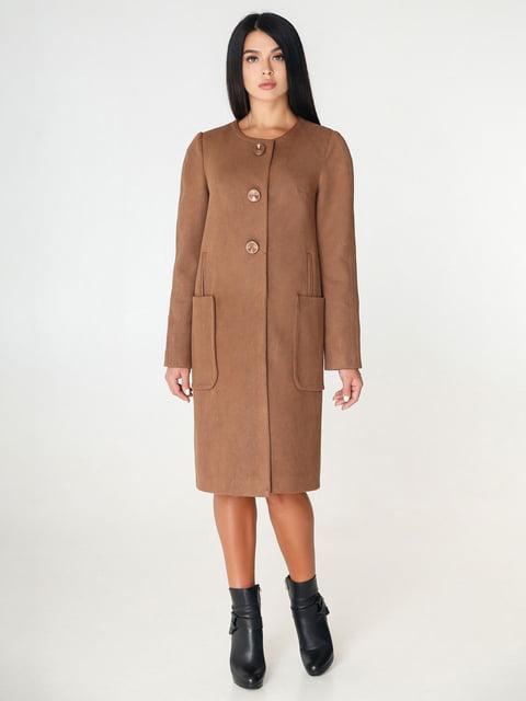 Пальто коричневое Favoritti 4450218