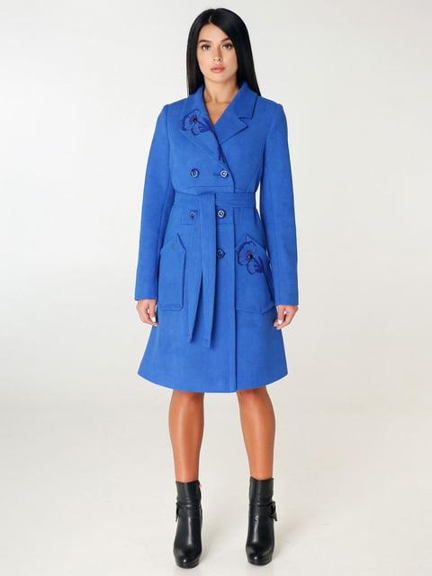 Пальто цвета электрик Favoritti 4450230