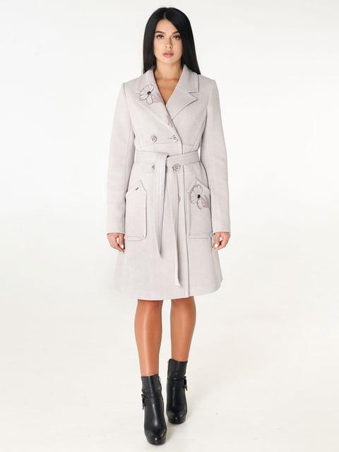 Пальто сіре Favoritti 4450231