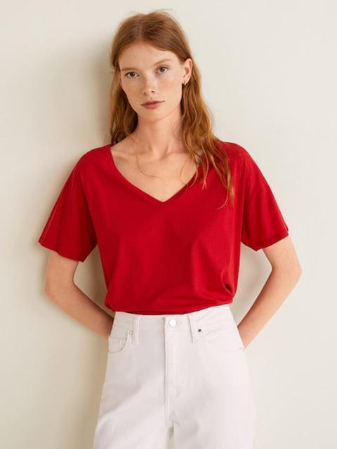 Блуза красная Mango 4440716