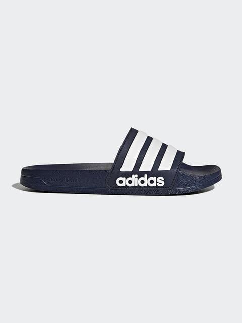 Шлепанцы синие Adidas 4443052